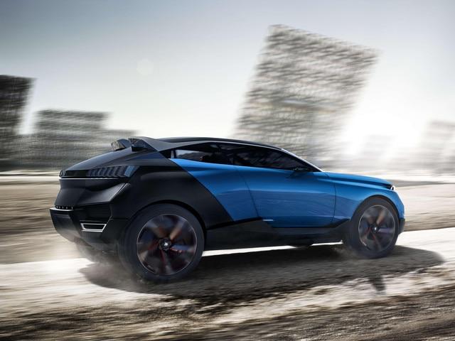 Peugeot Quartz -Design extérieur arrière du modèle