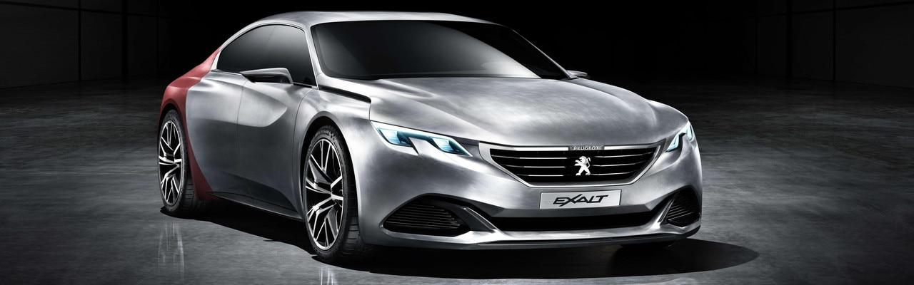 Peugeot Exalt - Le concept visionnaire de l'Exalt